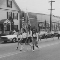 U.S. Bicentennial Celebration. Bellows Falls, VT. August 1976.
