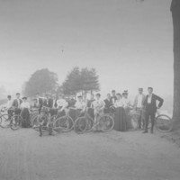 Bicycle Club: Bellows Falls, VT. 1890's.