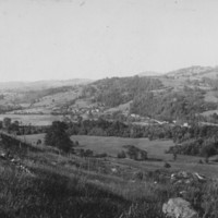 Bartonsville, VT. 1906 View of Village.