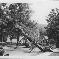 Hurricane: 9/21/1938: Henry Street. Bellows Falls, VT.