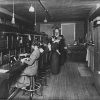 Telephone Service: Switchboard and Operators. 1/11/1914.