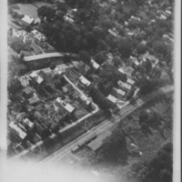Bellows Falls, VT. Aerial view of South End.