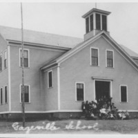 Gageville School Building. 1800s.