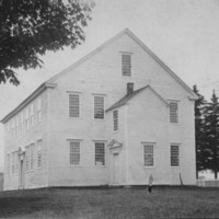 Rockingham Meeting House - South End and Front