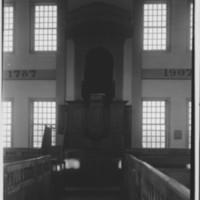 Rockingham Meeting House - Pulpit.