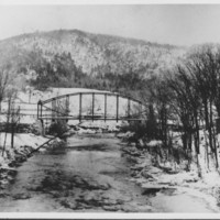 Bridge: Saxtons River Iron Bridge.