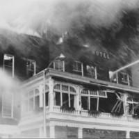 Fire: ADNA Brown Hotel. Springfield, VT. 1/1/1961