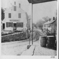 Bellows Falls: Canal Street. About 1875