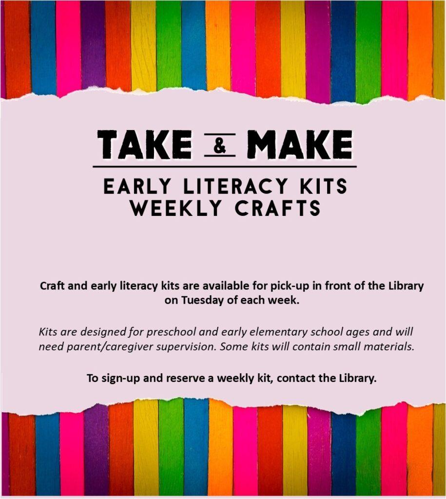 Take and Make Early Literacy