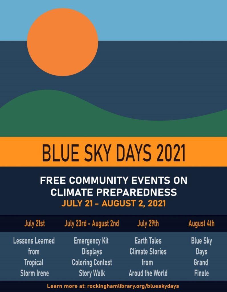 Blue Sky Days Poster