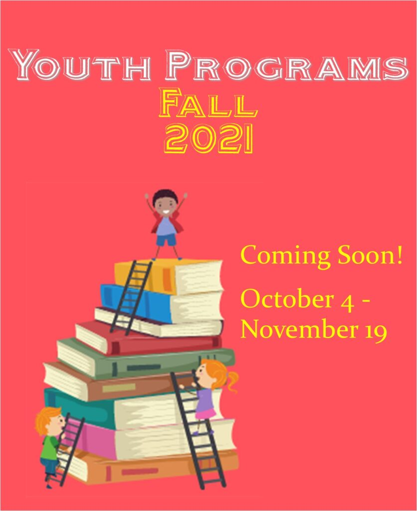 Fall Youth Programs Coming Soon